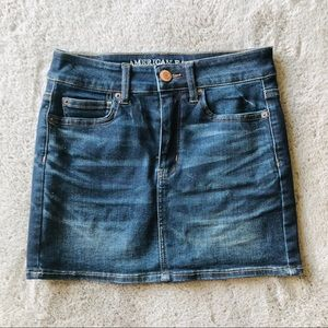American Eagle Hi-Rise Mini Skirt